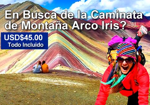Montaña Arcoiris Vinicunca