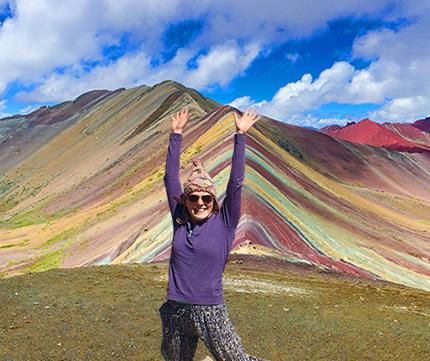 Cerro Colorado Montaña Arcoiris Vinicunca 1 dia