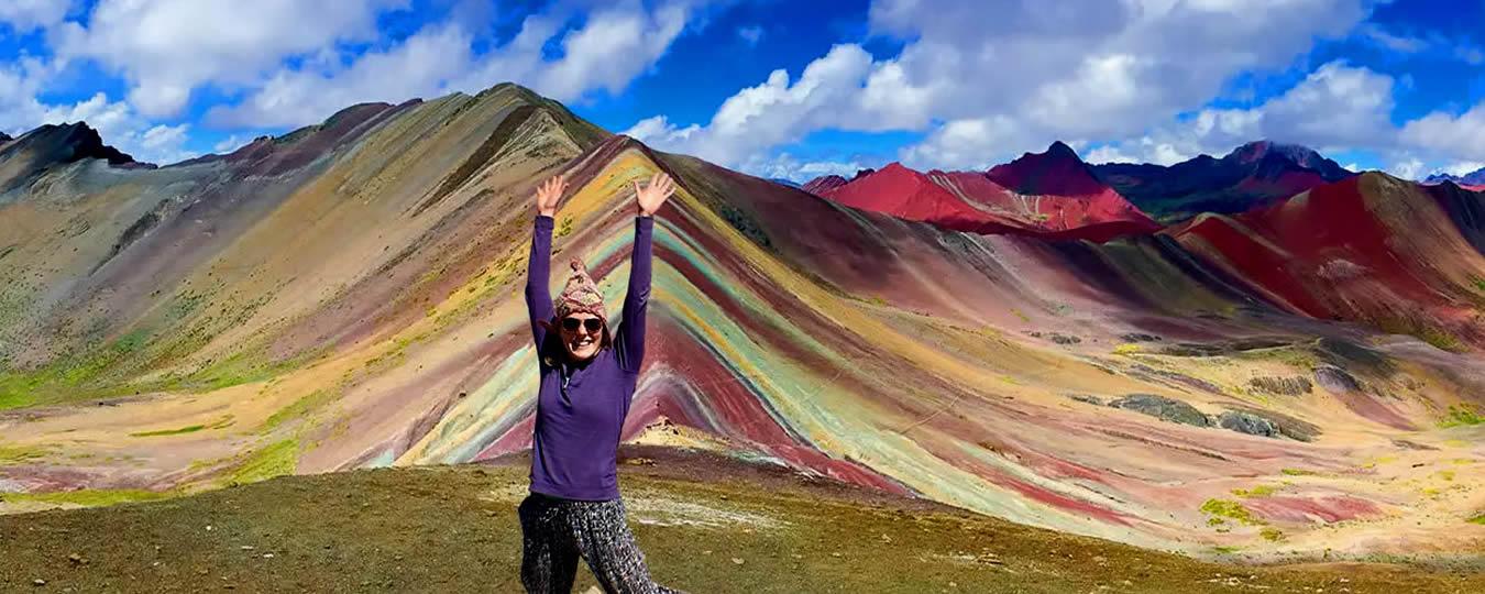 La Montaña Arcoiris de Siete Colores Vinicunca