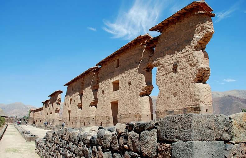 El templo de Huiracocha
