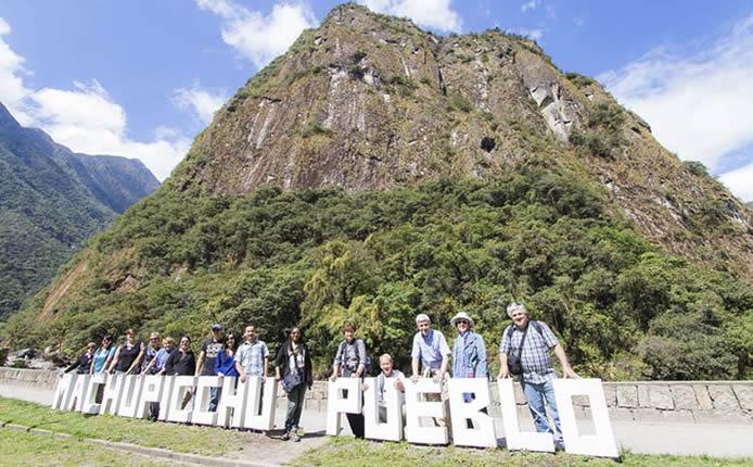 El servicio guiado en Machu Picchu
