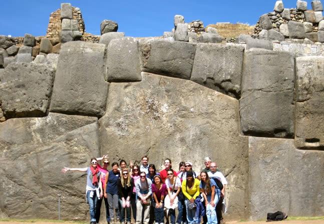 La fortaleza de Sacsayhuamán