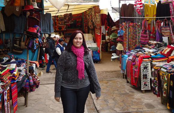 El Mercado de Pisac en el Valle Sagrado