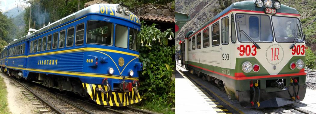 Trenes a Machu Picchu