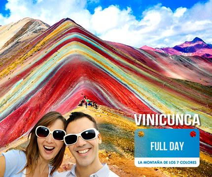 Conoce la Montaña de Siete Colores