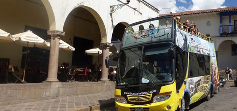 Paseo en Mira bus Panoramico Cusco