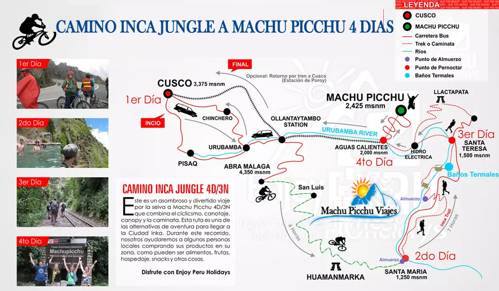 Camino Inca Jungle Machu Picchu