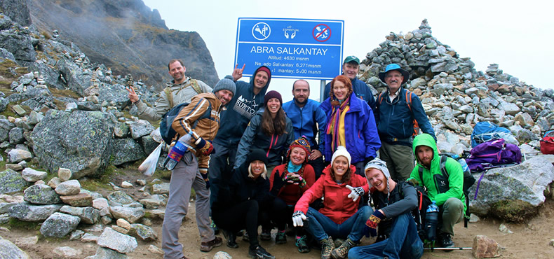Camino Inca Salkantay Machu Picchu