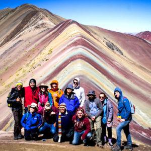 Cerro Colorado Montaña Arco Iris Vinicunca 02 Dias