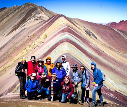 Cerro Colorado Montaña Arco Iris Vinicunca