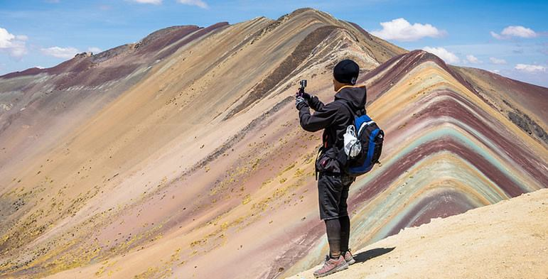 La montaña de siete Colores Vinicunca