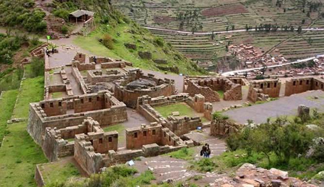 Las ruinas de Pisac