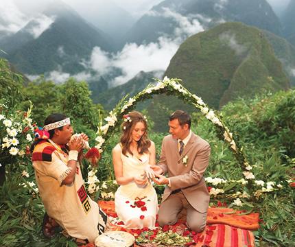 Tour Matrimonio Andino en Machu Picchu