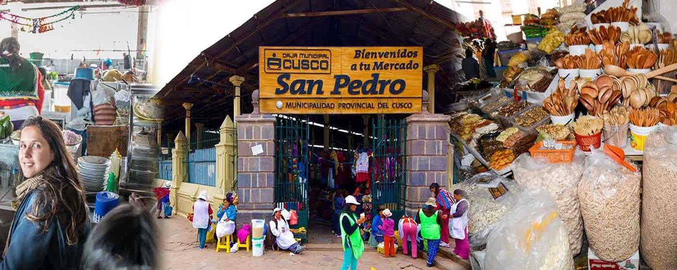 El Mercado Central de San Pedro en Cusco