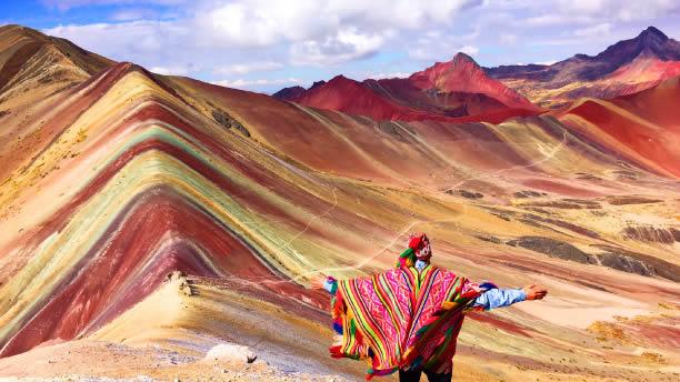 El recorrido por la montaña de 7 colores