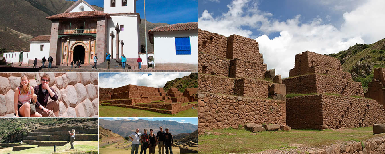 El Valle sur en Cusco