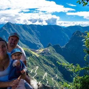 Intipuncu o Puerta del Sol en Machu Picchu