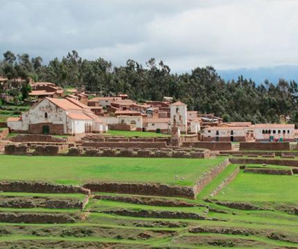 Urubamba en el Valle Sagrado de los Incas