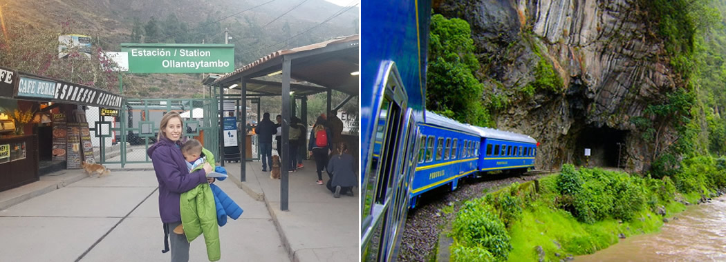 Cómo llegar a la Estación Ollantaytambo