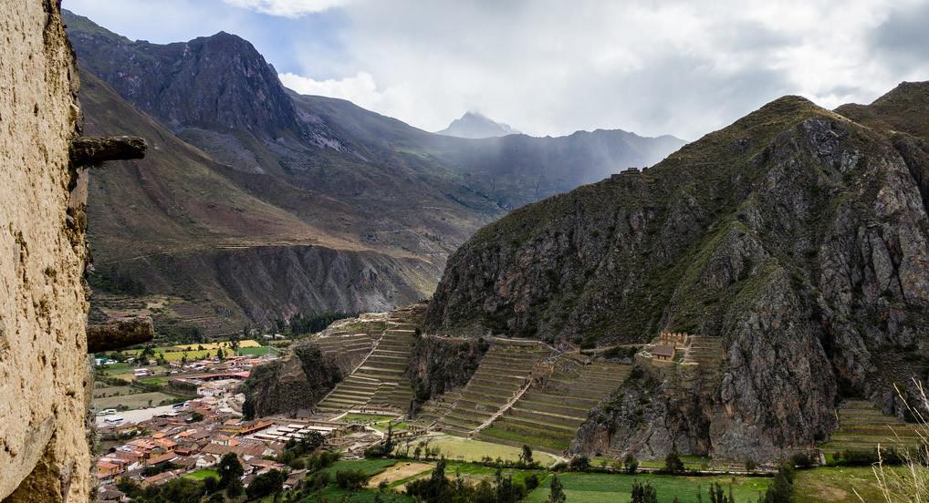 Visitar sin Boleto Turístico en un día en Ollantaytambo