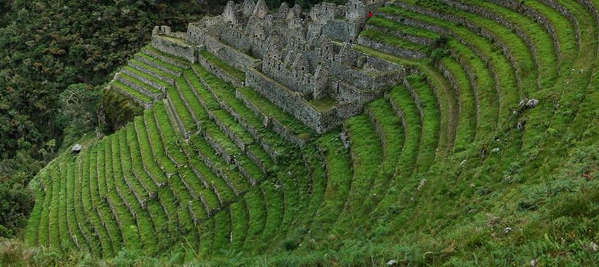 El camino inca es parte de la naturaleza
