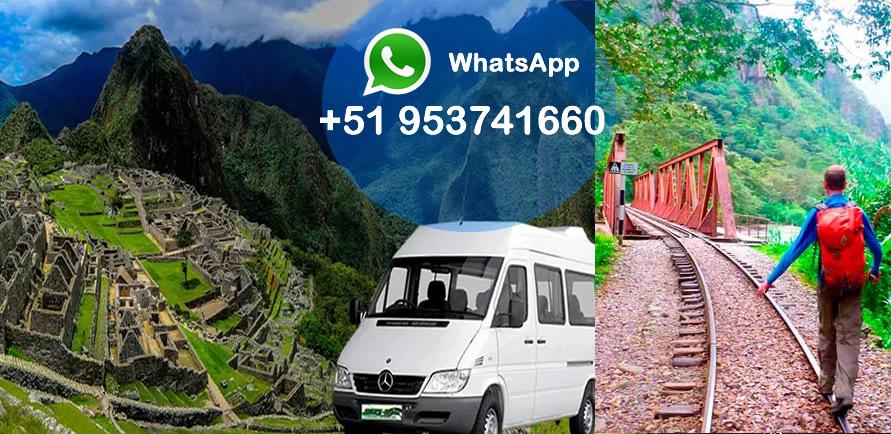 Transporte a Machu Picchu desde Cusco