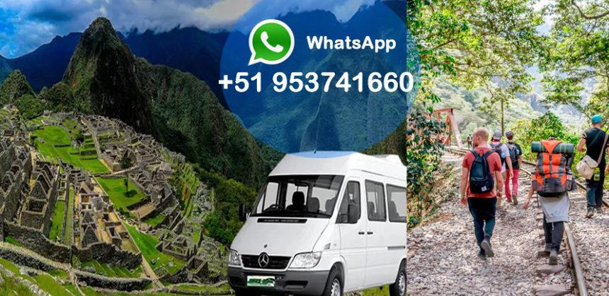 Transporte de Aguas Calientes a Machu Picchu