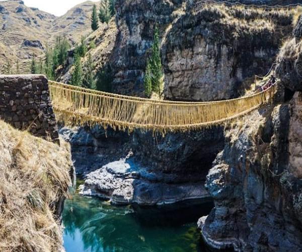 Tour Puente Inca Qeswachaka Cusco