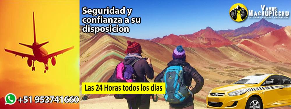 Traslado Aeropuerto Cusco Montaña de Colores
